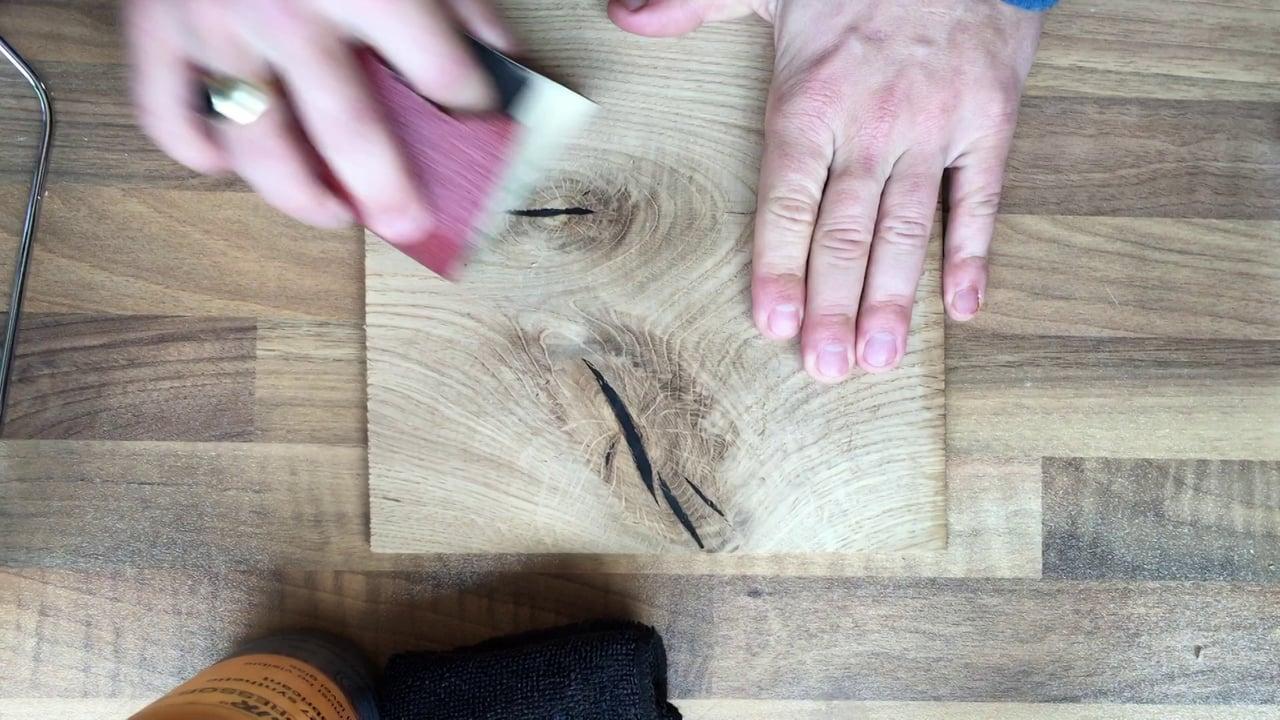 Knot & crack repair