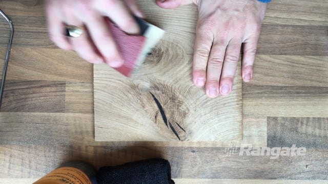 Wood Repair with Rangate Knot Filler