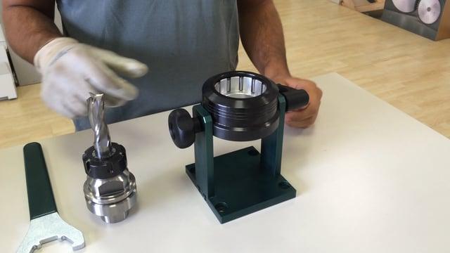 Rangate CNC Tool Mount/Demount Stand
