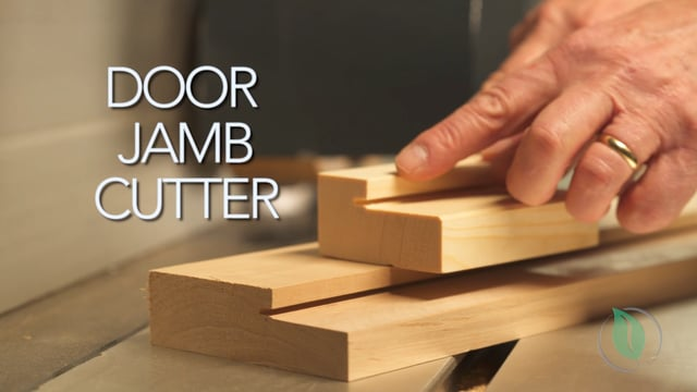 Adjustable Door Jamb Cutter - Setup & Demonstration