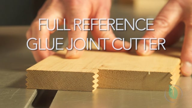 Full Reference Glue Joint Cutter - Setup & Demonstration