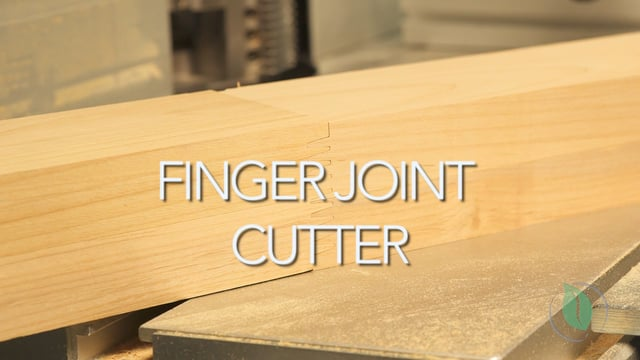 Finger Joint Cutter - Setup & Demonstration