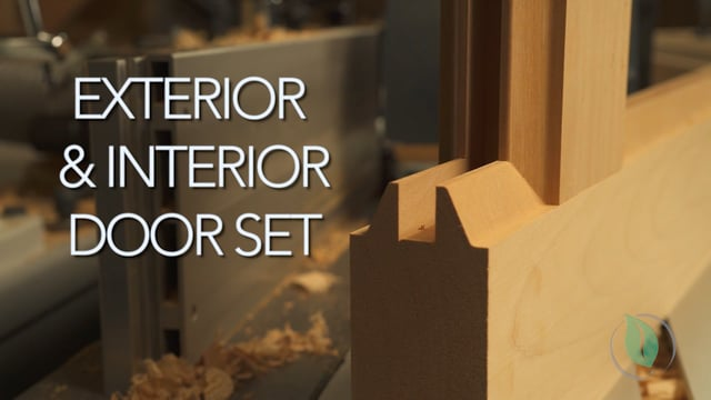 Exterior/Interior Door Set - Setup & Demonstration