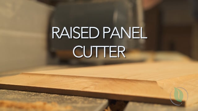 Raised Panel Cutter - Setup & Demonstration