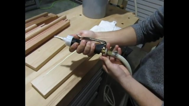 Adjusting Glue Flow on Rangate Pizzi Standard Glue Gun