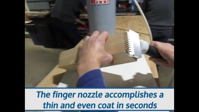 Rangate Pizzi Finger Joint Nozzles