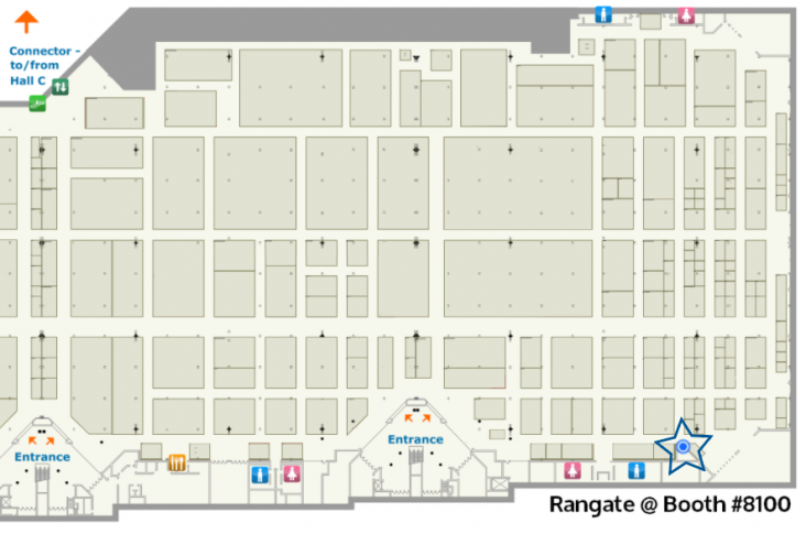 Rangate Floor Map IWF 2018