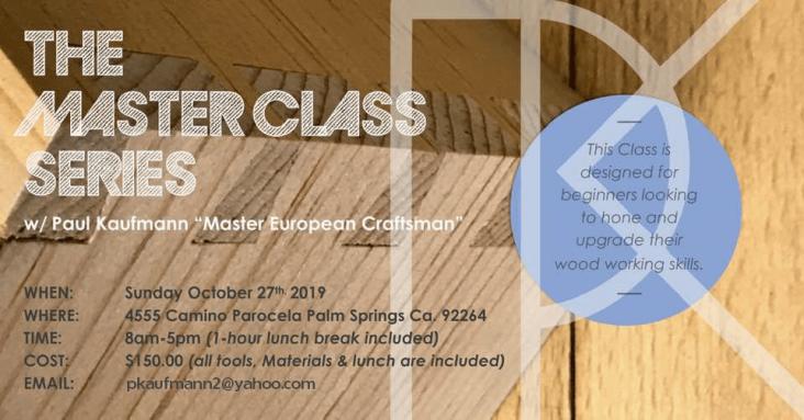 Master Class Series with Paul Kaufmann