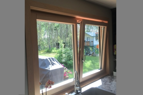 Tilt and Turn Window built with Rangate PROSet in