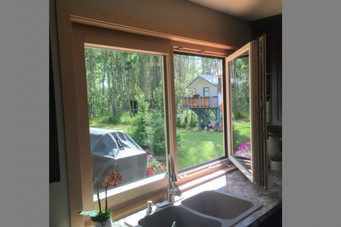 Tilt and Turn Window built with Rangate PROSet