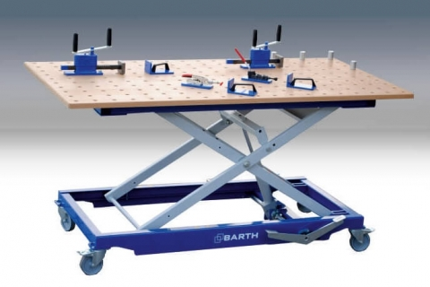 Barth 300 XL with Perforated Plate