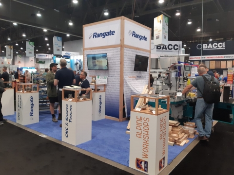 Rangate Booth at AWFS 2019