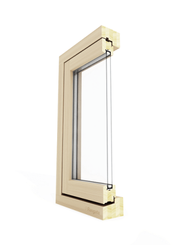 Casement Window Sectional View