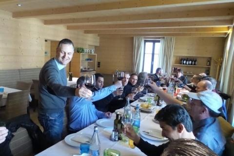 Dinner on the Rangate Euro Tour