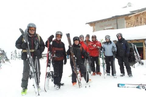 Euro Tour Skiing Fun!