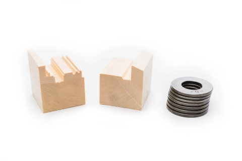 FLEXset Wood Samples & Spacers