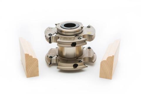 Garniga Shutter Cutter with Wood Samples