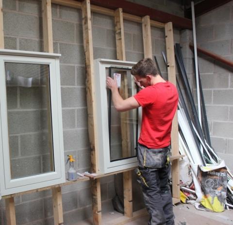 Glazing Install