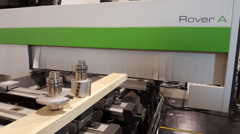 Biesse 5-Axis with Rangate Tooling