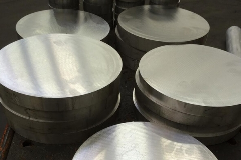 Steel Discs ready to be miled into precision cutters