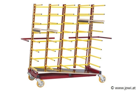 Jowi Nautilus Transport Rack