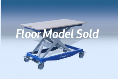 Rangate Barth Lift Table 300 Floor Model Sold