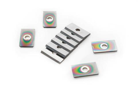 Selection of Diamond-Coated NaDia insert knives
