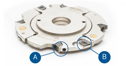 8 - 15 mm Adjustable Groover Insert Knife Diagram