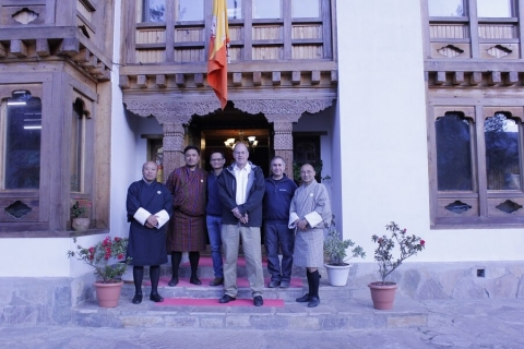 The Rangate team in Bhutan