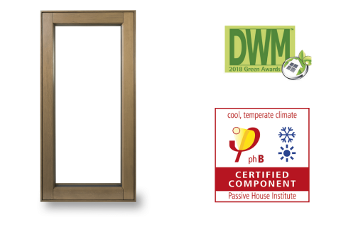 Award Winning Passive House Wood Outwswing Casement Window