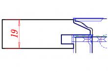 RCCD Stile & Rail Cabinet Set Slant Profile